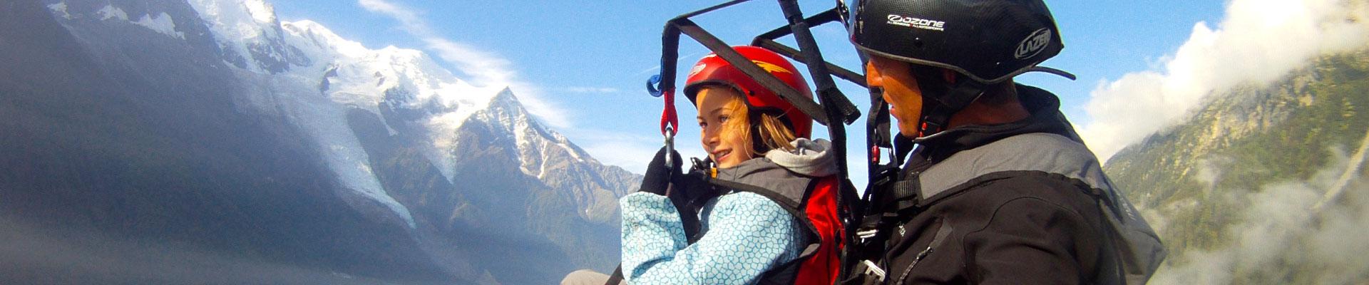 Lancez-vous et faites votre premier vol en parapente biplace à Chamonix !