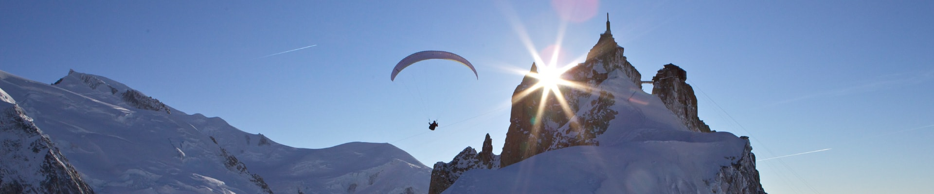 Experience our best paragliding hight mountain flights